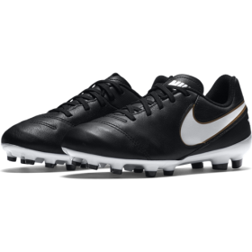 Бутсы Nike Football Kids Tiempo Legend VI (FG) blk/wht (819186-010) p1Y-6Y 16/17