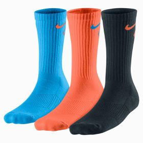Носки Nike 3P CR Graphic /blue/black/orange (SX4715-984) pXS,S,M 14/15