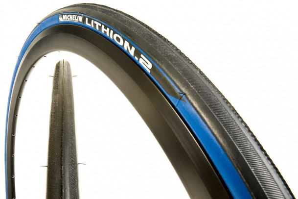 Покрышка Michelin Lithion 2 шоссе 23-622 (700х23С) TS голубой 3777241111
