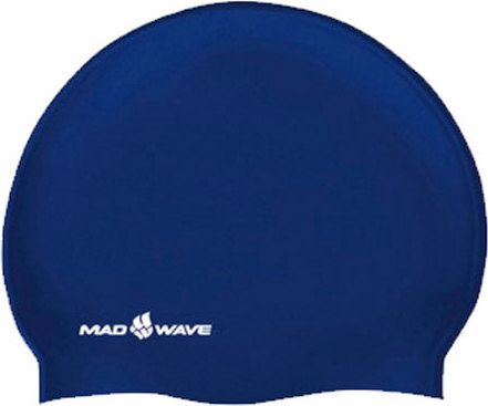 Шапочка Madwave Silicone Jinior Solid navy (M0547 01 03W)