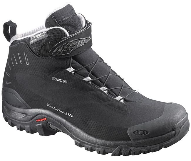 Ботинки Salomon (Франция) Deemax 3 TS Wp black/black/alu (376878) UK7-12,5 17/18