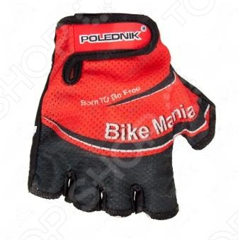 Велоперчатки Polednik Bike Mania red рS,M,L,XL