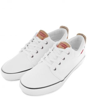 Кеды Levi's (Швейцария) Justin Low Lace brilliant white (223286/736-50) p41,42,43,44 16
